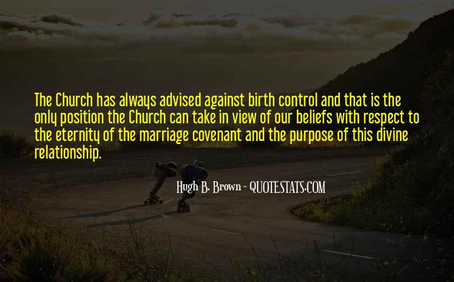 Hugh B. Brown Quotes #1456198