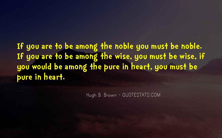 Hugh B. Brown Quotes #272524