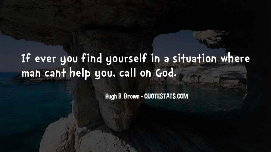 Hugh B. Brown Quotes #504201