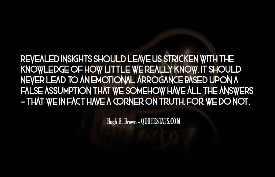 Hugh B. Brown Quotes #650629