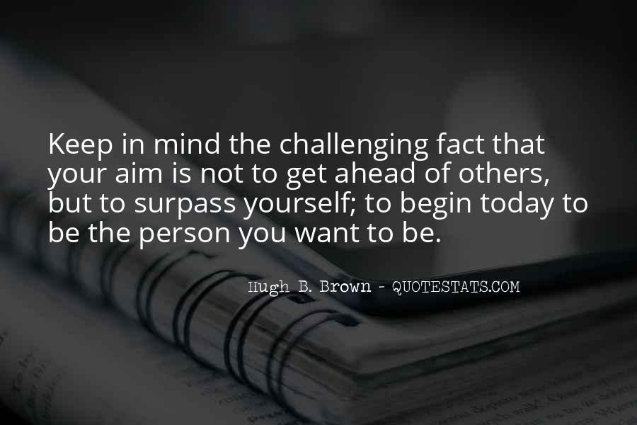 Hugh B. Brown Quotes #814611