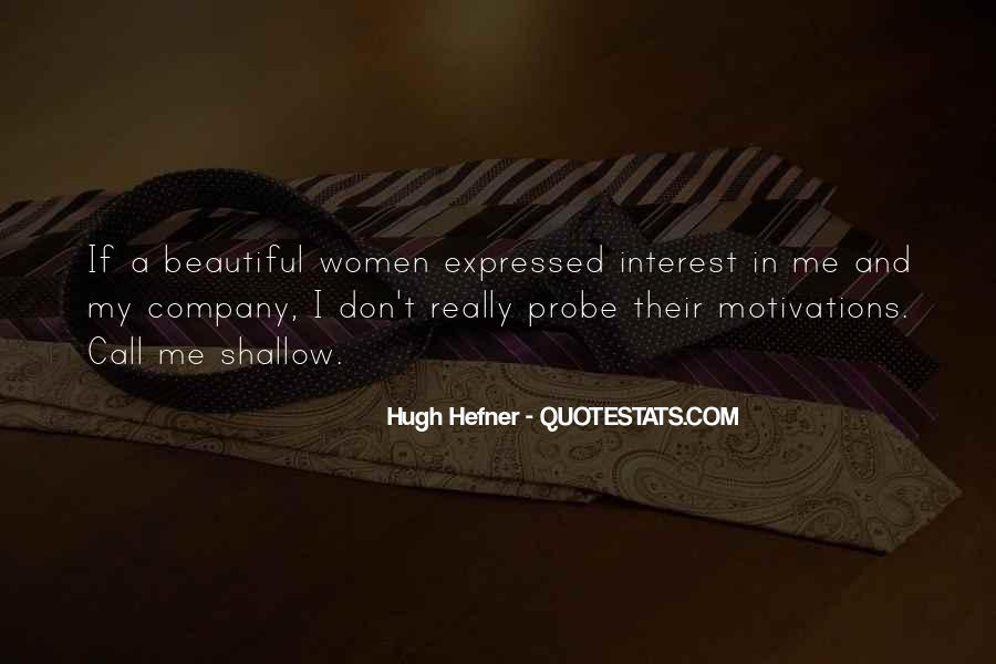 Hugh Hefner Quotes #1519150