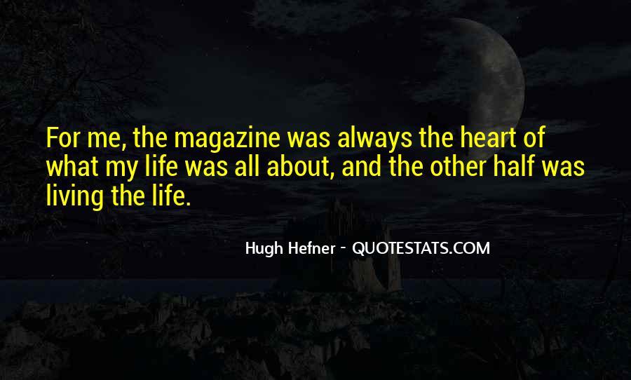 Hugh Hefner Quotes #1676859