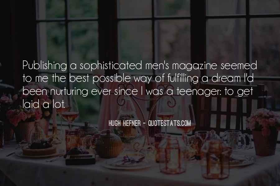 Hugh Hefner Quotes #279164