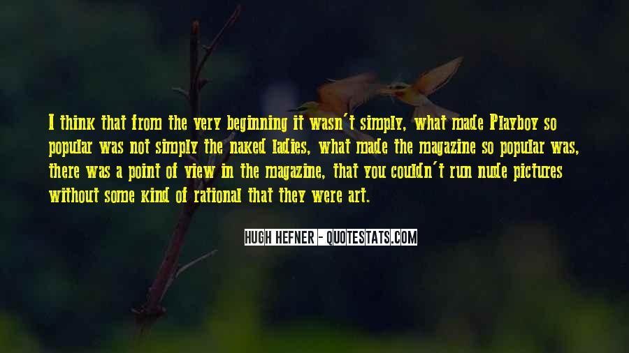 Hugh Hefner Quotes #52823