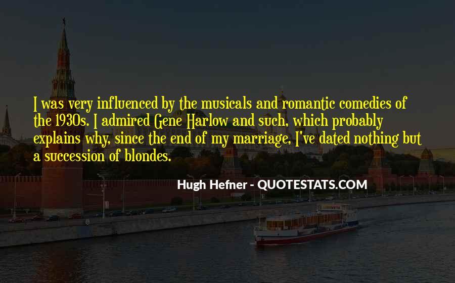 Hugh Hefner Quotes #634441