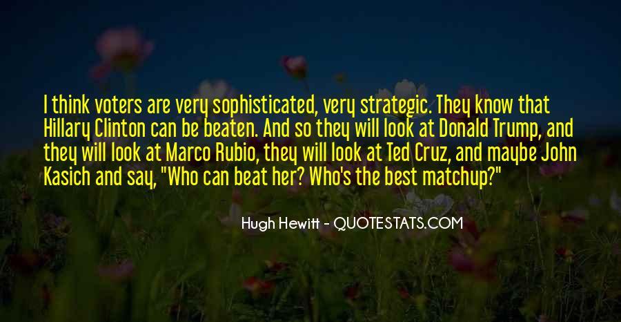 Hugh Hewitt Quotes #42532