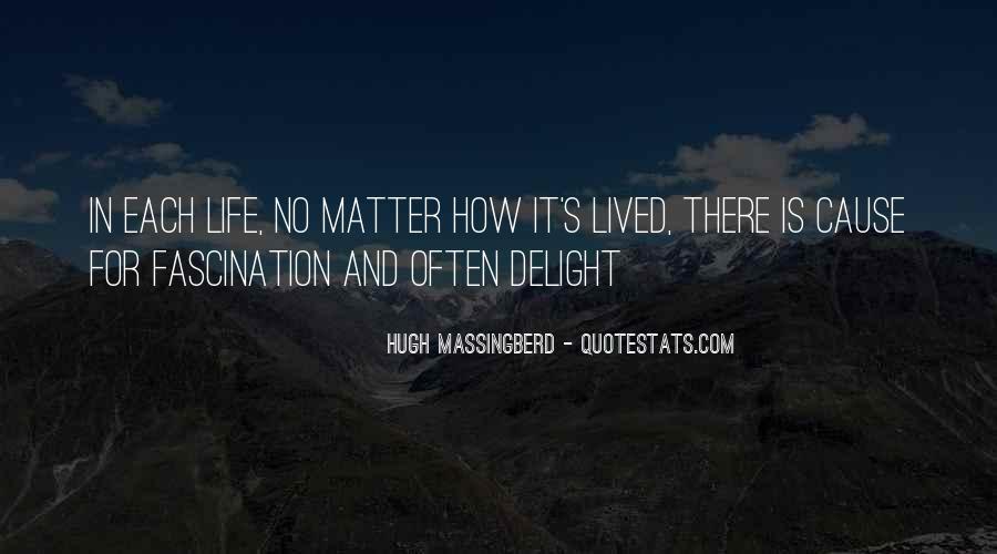 Hugh Massingberd Quotes #1673356