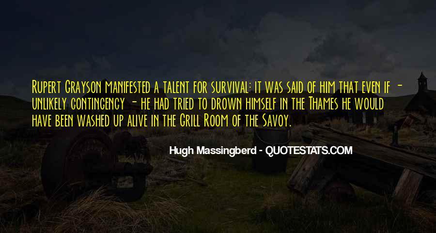 Hugh Massingberd Quotes #466869