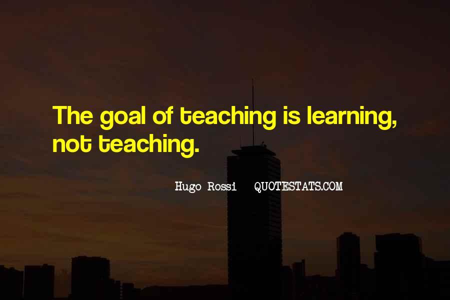 Hugo Rossi Quotes #1201690