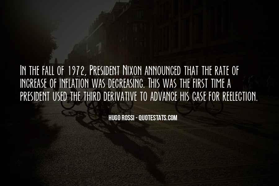 Hugo Rossi Quotes #612817