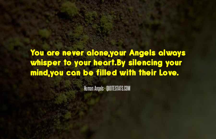 Human Angels Quotes #1360733