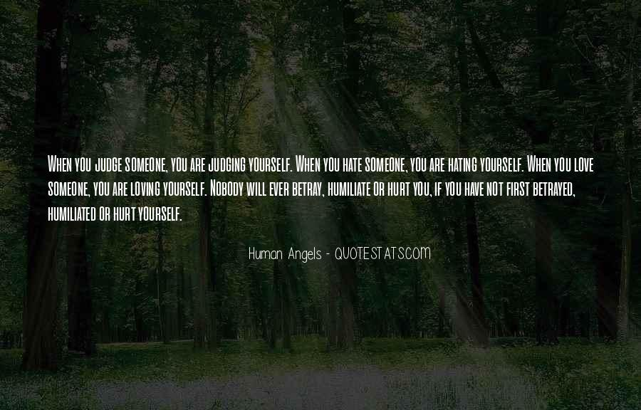 Human Angels Quotes #432634