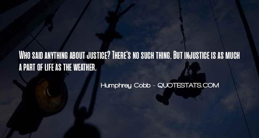 Humphrey Cobb Quotes #1278364
