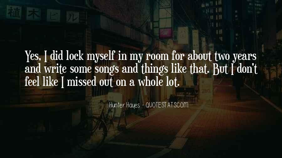 Hunter Hayes Quotes #135963