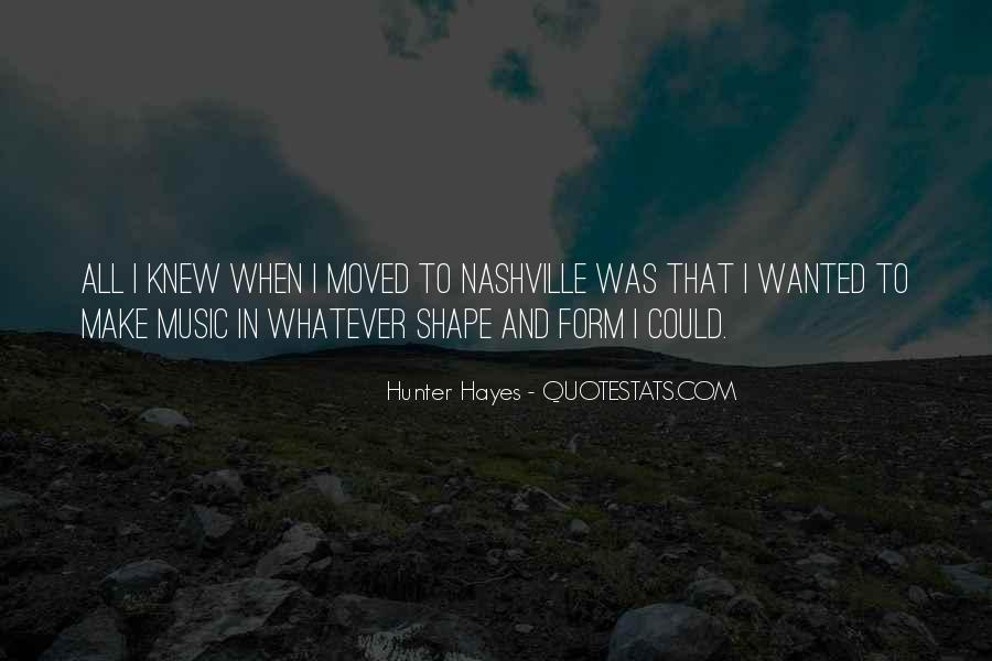 Hunter Hayes Quotes #13721