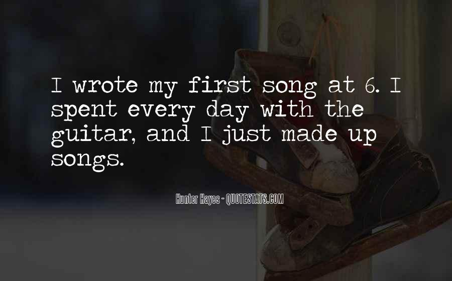 Hunter Hayes Quotes #1464245