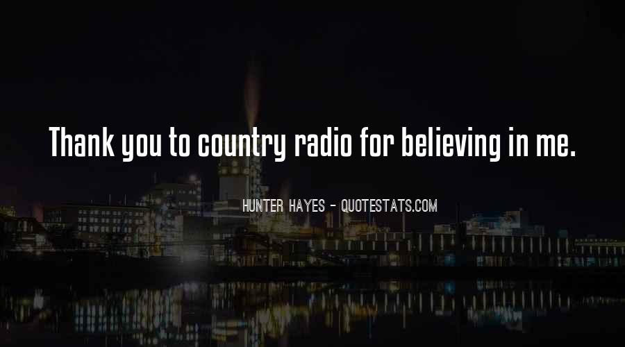 Hunter Hayes Quotes #1470341