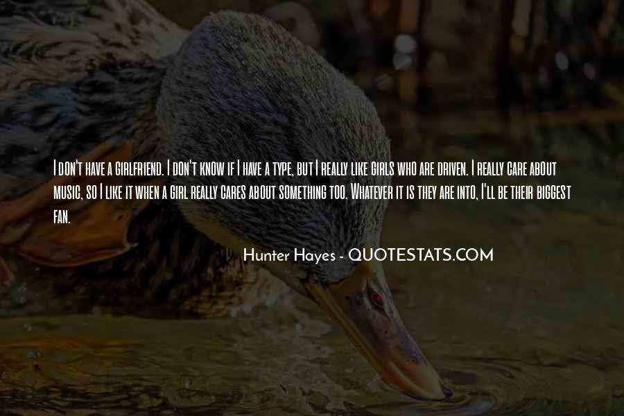 Hunter Hayes Quotes #597797