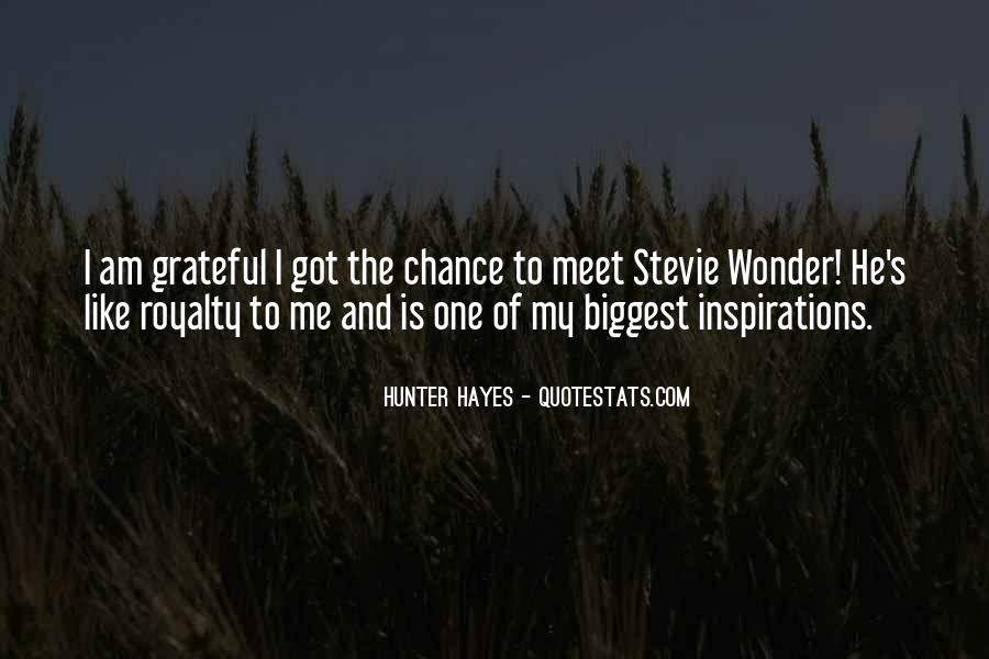 Hunter Hayes Quotes #696813