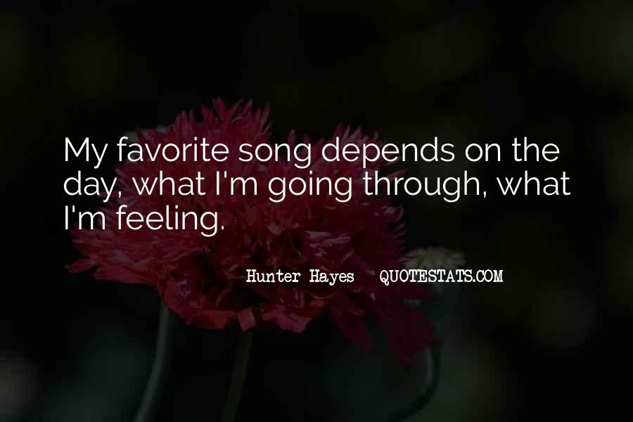 Hunter Hayes Quotes #913215