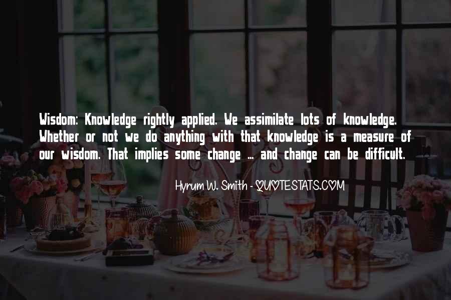 Hyrum W. Smith Quotes #1152397