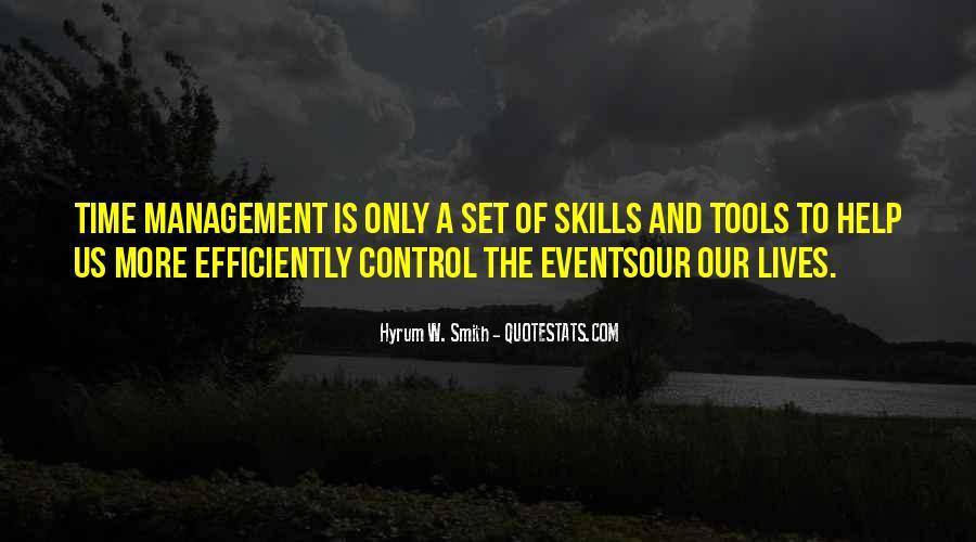 Hyrum W. Smith Quotes #143072