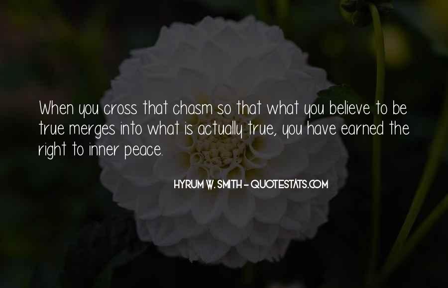 Hyrum W. Smith Quotes #1657531