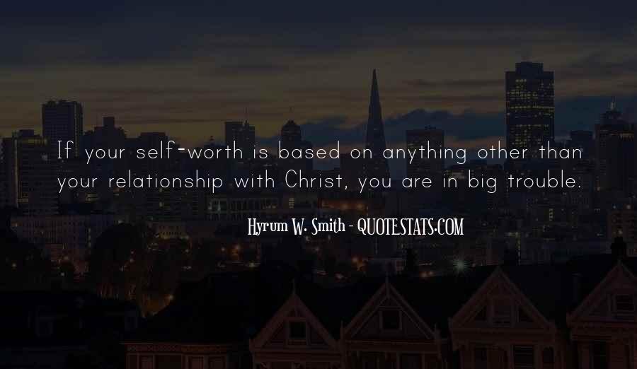 Hyrum W. Smith Quotes #713379