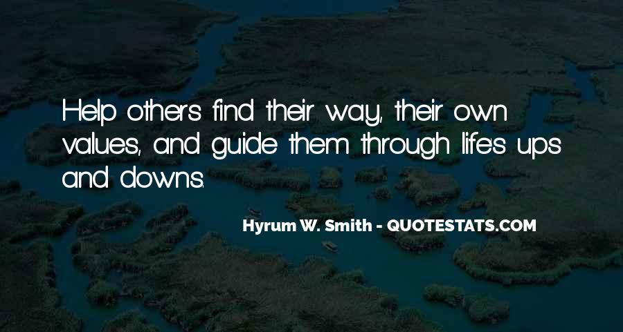 Hyrum W. Smith Quotes #982693