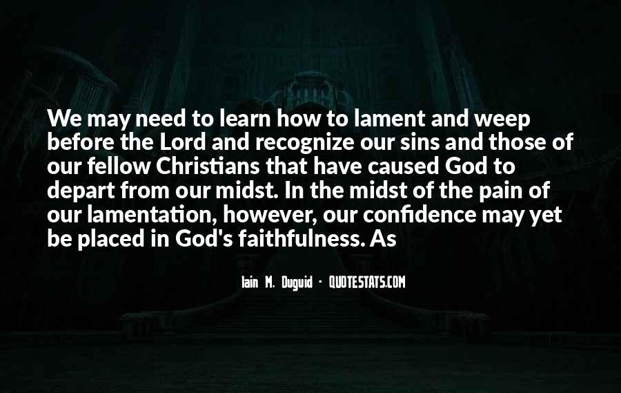 Iain M. Duguid Quotes #155632