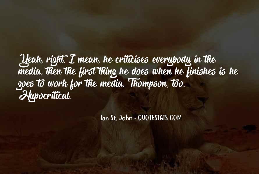 Ian St. John Quotes #1479457