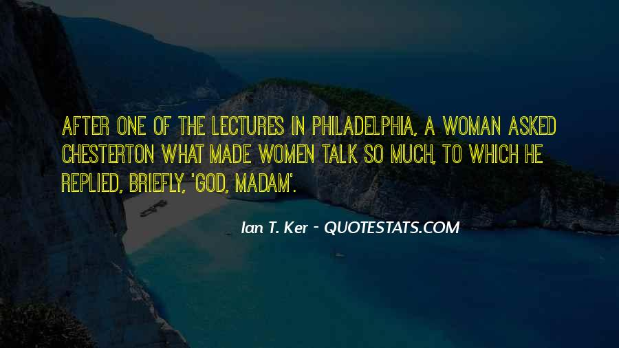 Ian T. Ker Quotes #567687