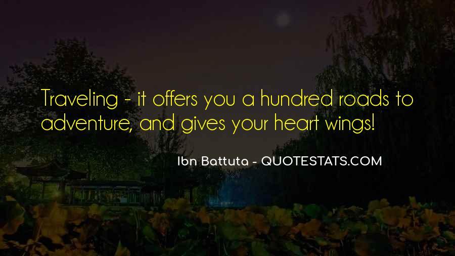 Ibn Battuta Quotes #573445