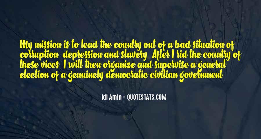 Idi Amin Quotes #1529269