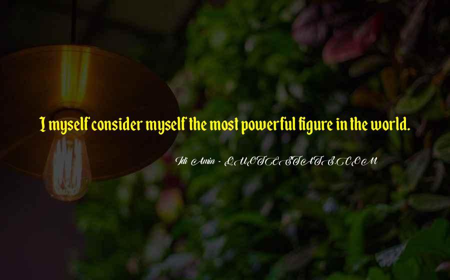 Idi Amin Quotes #1769635