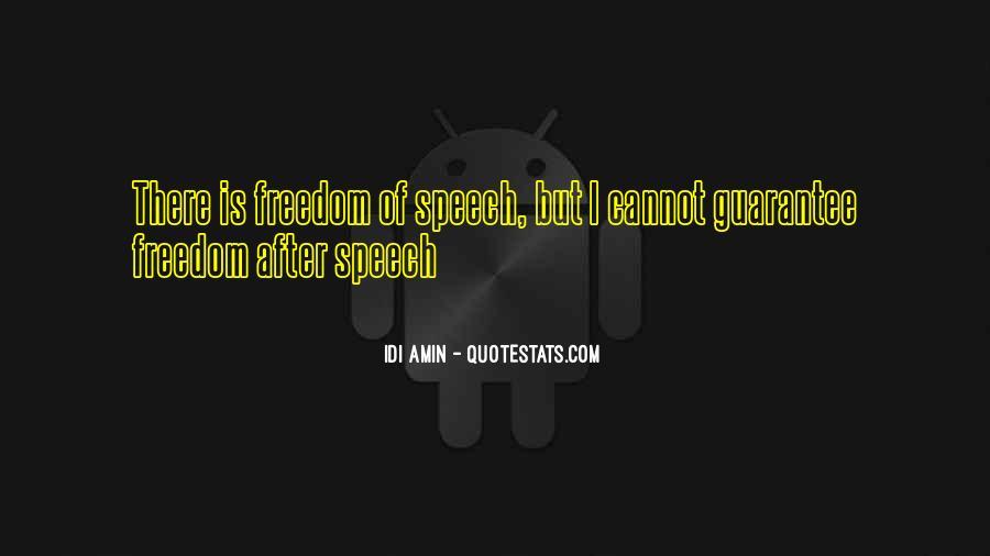 Idi Amin Quotes #204153