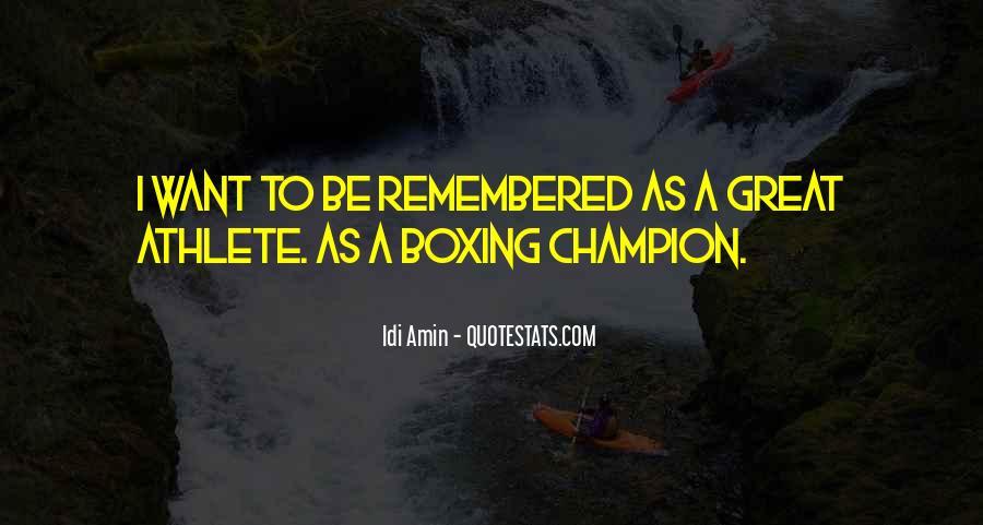 Idi Amin Quotes #302269