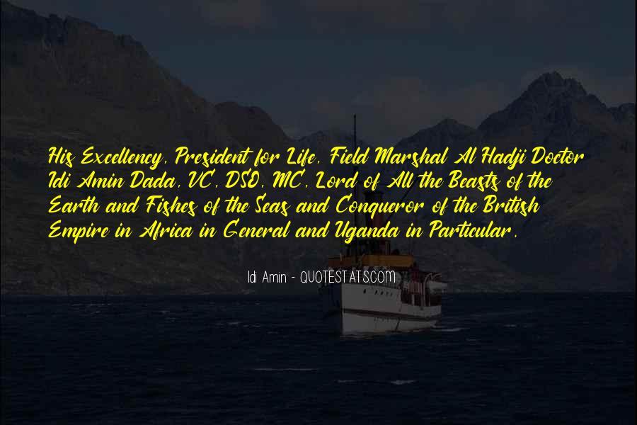 Idi Amin Quotes #402707