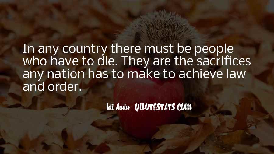 Idi Amin Quotes #449354