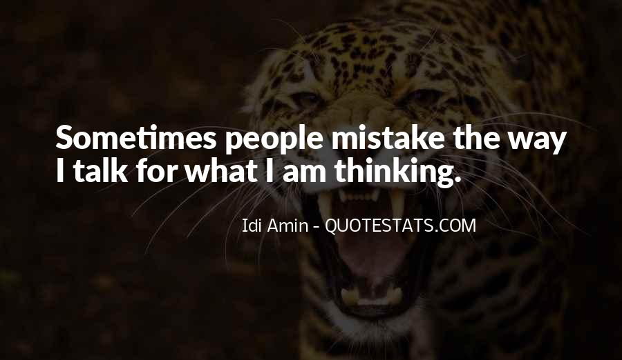 Idi Amin Quotes #664136
