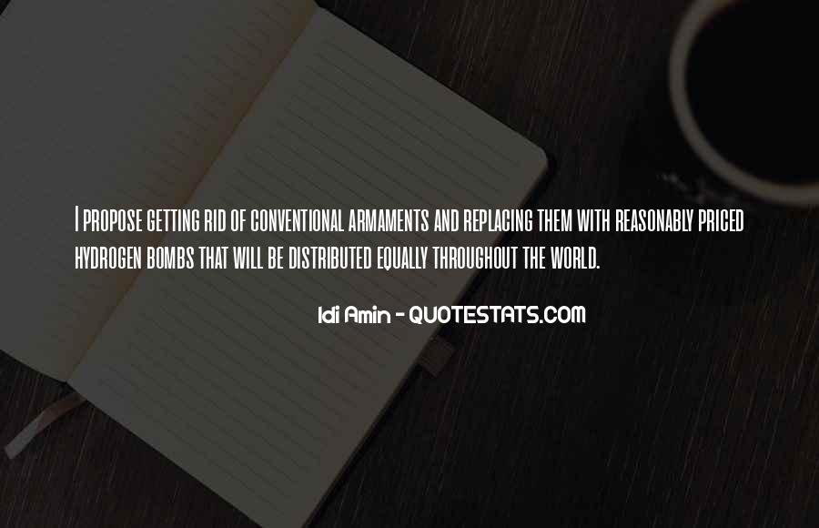 Idi Amin Quotes #675730