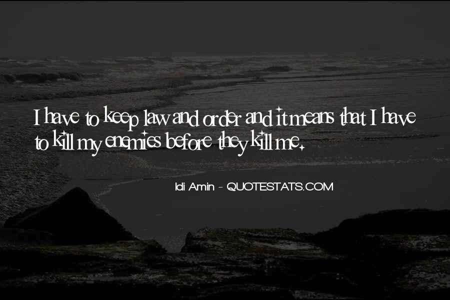 Idi Amin Quotes #726658