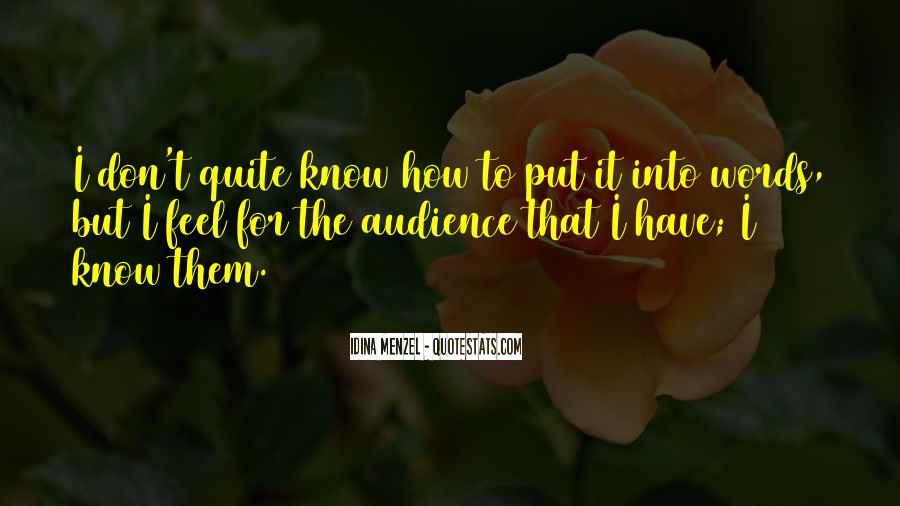 Idina Menzel Quotes #1009984