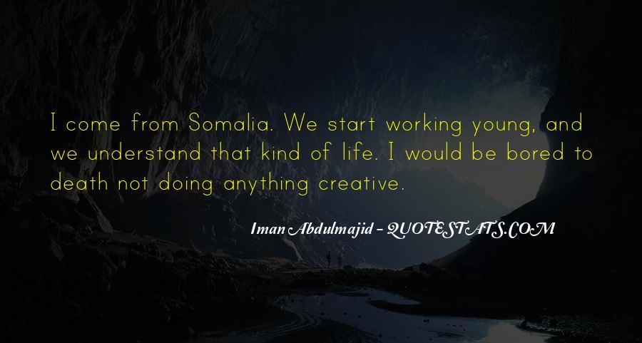 Iman Abdulmajid Quotes #1645353