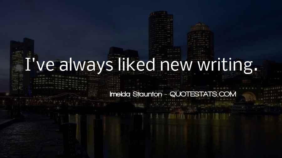Imelda Staunton Quotes #1302440