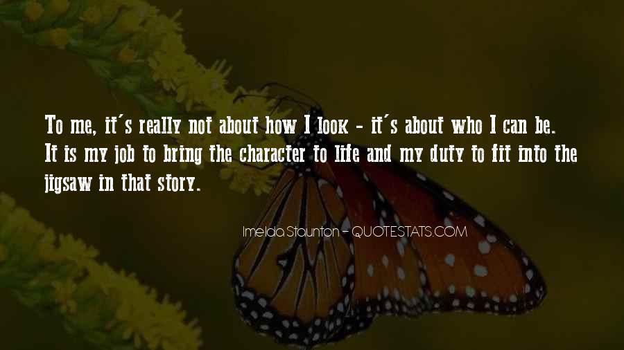 Imelda Staunton Quotes #147404