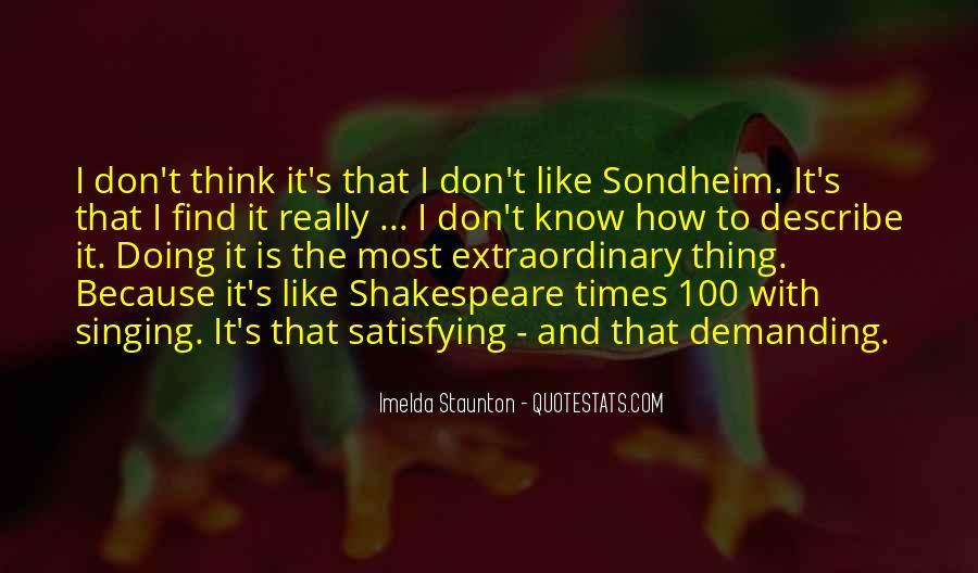 Imelda Staunton Quotes #282325