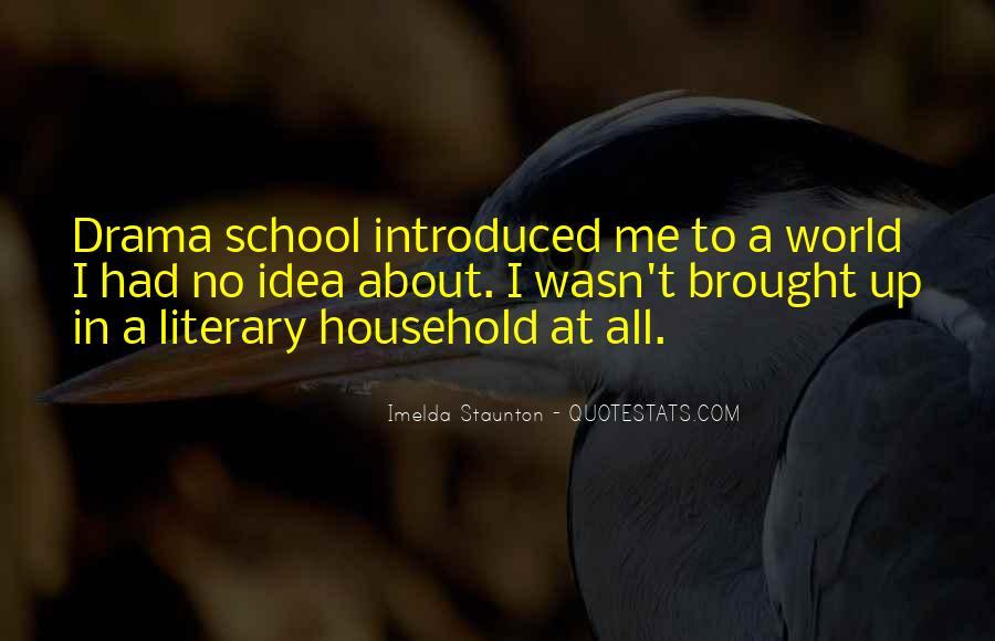 Imelda Staunton Quotes #890511