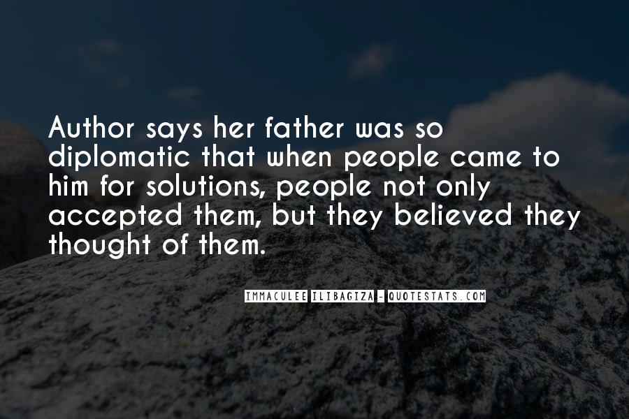 Immaculee Ilibagiza Quotes #144732
